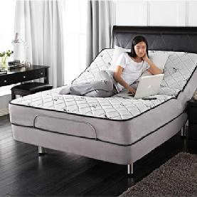 Premier 400 adjustable bed with massage and wireless remote for Beds express delivery